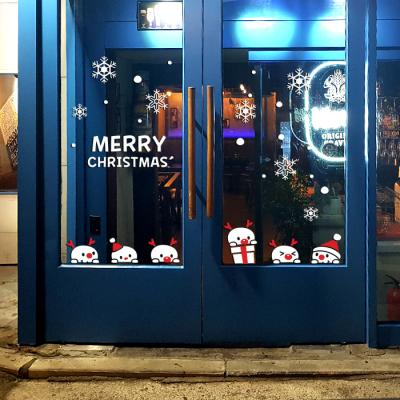 제제데코 크리스마스 눈꽃 스티커 장식 CMS4J188