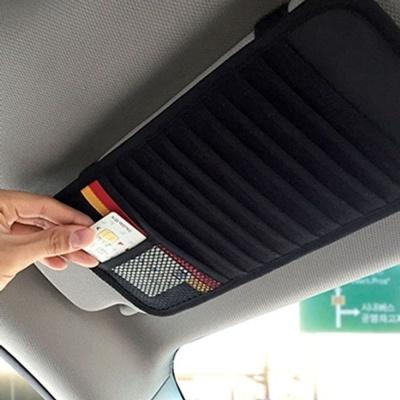 차량용 CD바이저 보관 케이스 카드 포켓 수납 정리