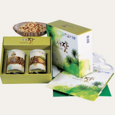 [가평특산품] 청정역의 향을 머금은 가평잣 140gx2캔