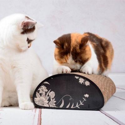 안정감 베게형 스크래처 고양이 스트레스 해소