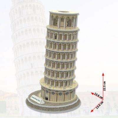 3D 입체퍼즐 건축모형 종이퍼즐 미니어처 피사의사탑