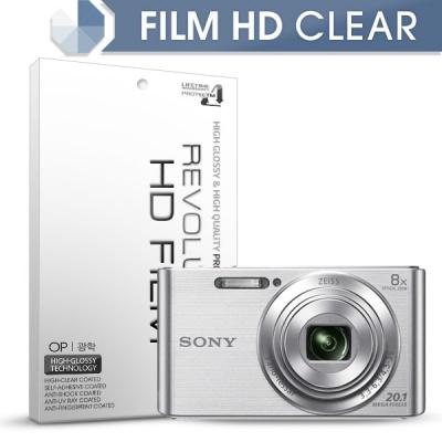 [프로텍트엠/PROTECTM] 레볼루션HD 올레포빅 고광택 액정보호필름 2장 디지털카메라 CAMERA SONY 소니 DSC-W830