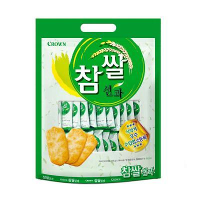 크라운 참쌀선과 과자 (대) 253g