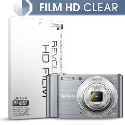 [프로텍트엠/PROTECTM] 레볼루션HD 올레포빅 고광택 액정보호필름 2장 디지털카메라 CAMERA SONY 소니 DSC-W810/S /B /P