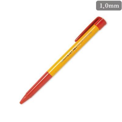 오피스빅 볼펜(1.0mm) 적색 1EA