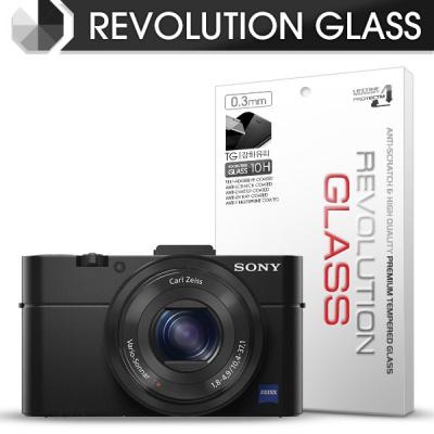 [프로텍트엠/PROTECTM] 레볼루션글라스 0.3T 강화유리필름 방탄액정보호 2장 디지털 카메라 CAMERA SONY 소니 DSC-RX100 / RX100M2 / RX100M3