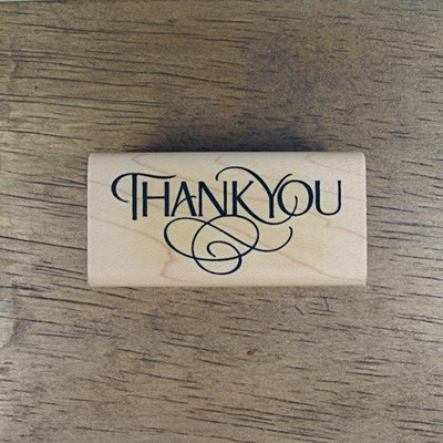 [메세지]Thank you (6x3) 정자체