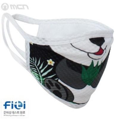 스포츠 매쉬 마스크 나노 필터 세탁 가능 3중 레이어