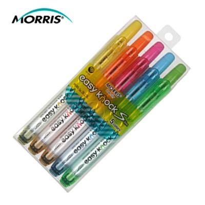 모리스 이지노크S 형광펜 5색세트 MRH-105-5S