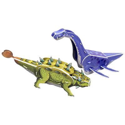공룡 입체퍼즐 - 엘라스모사우루스 안킬로사우루스