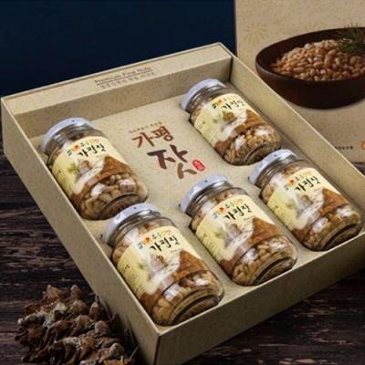[가평특산품] 청정역의 향을 머금은 가평잣 140gx5병