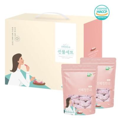 복분자 찹쌀유과 200gx2봉(선물박스)
