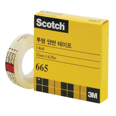 3M 스카치™ 투명 양면테이프 리필 665R