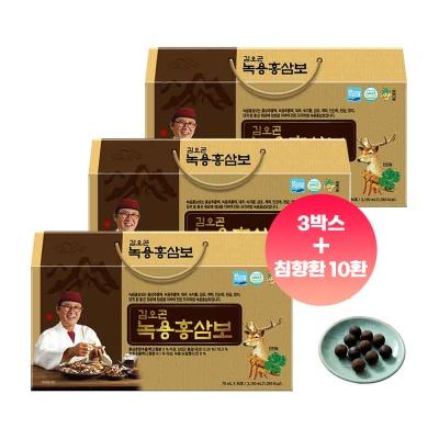 김오곤 녹용홍삼보 국내산 6년근 90포