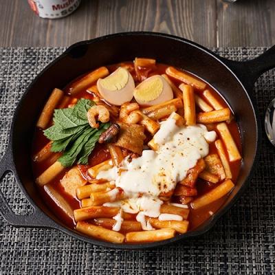 밀라노 국물 떡볶이 700g 매운맛 (3인분)