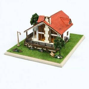 디오라마 스토리하우스 전원주택 영공방 프라모델 모형 조립키트 목재 나무모형 건축모형