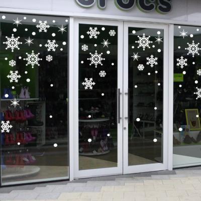 제제데코 크리스마스 눈꽃 스티커 장식 CMS4J013