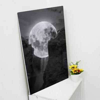 ir178-폼아크릴액자38CmX58Cm_절벽사이보름달
