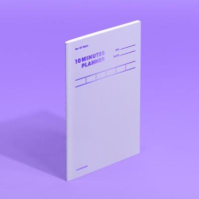 [모트모트] 텐미닛 플래너 31DAYS - 바이올렛 (1EA)