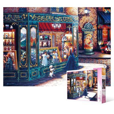 500피스 직소퍼즐 - 갤러리 앤 플라워