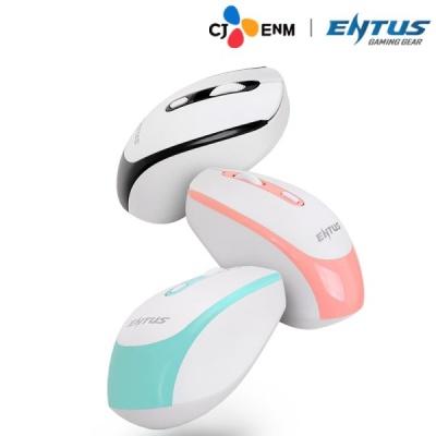 CJ ENM ENTUS WM30 무소음 고성능 광센서 무선 마우스