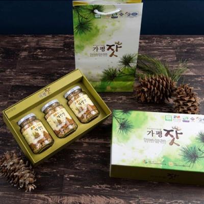 [가평특산품] 청정역의 향을 머금은 가평잣 140gx3병