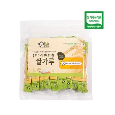 [맘스쌀과자] 한끼 쌀가루 초기 (스틱형)