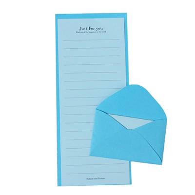 [자연과사람] C편지지 세트 - 블루