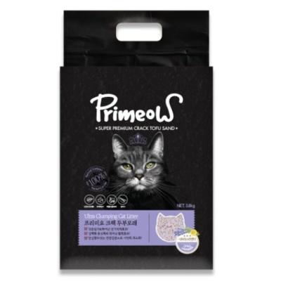 고양이용품 크랙 두부모래 스트러스 라벤더3.8kg