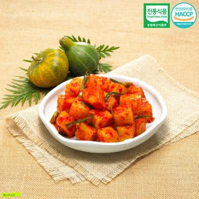 [명가김치] 전통식품인증 100% 국내산 깍두기 10kg