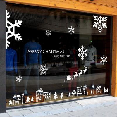 제제데코 크리스마스 눈꽃 스티커 장식 CMS4J189