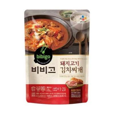 [CJ제일제당] 비비고 돼지고기김치찌개 460gx2팩