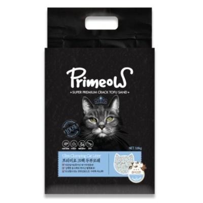 프리미요 크랙 고양이 두부모래 퓨어코튼3.8kg