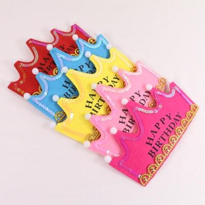 생일 파티 왕관 머리띠 5color LED 모자 이벤트 용품