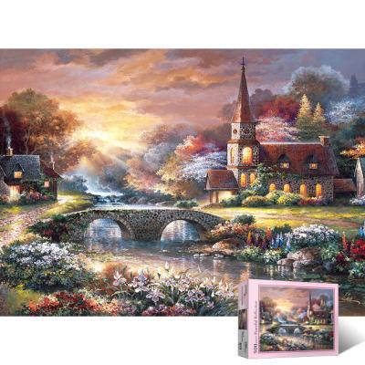500피스 평화로운 교회 PL875