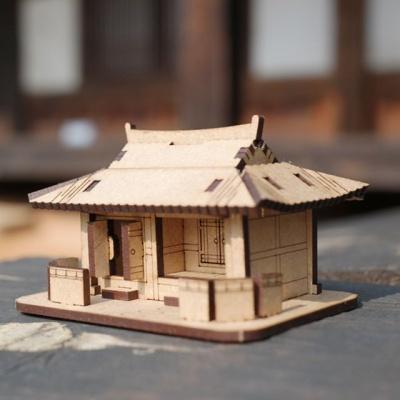 기와집 한옥 나무 조립 건축 건물 모형 DIY 만들기