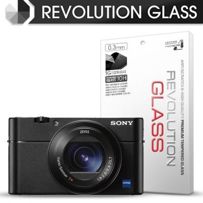 [프로텍트엠/PROTECTM] 레볼루션글라스 0.3T 강화유리필름 방탄액정보호 2장 디지털 카메라 CAMERA SONY 소니 DSC-RX100M4 / RX100M5