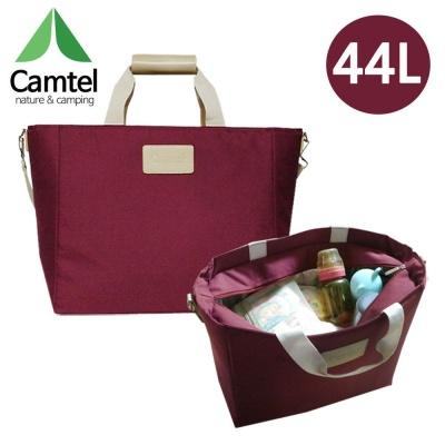 CAMTEL 보냉가방 44리터 (와인레드) (AS-44L)