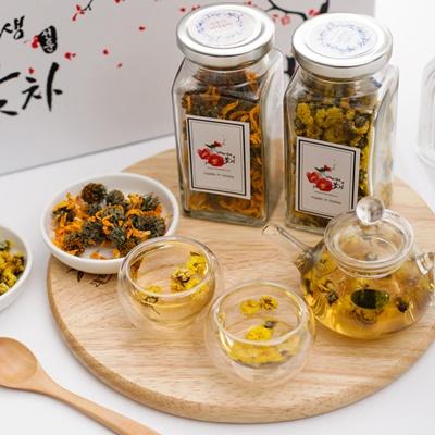 선운산야생꽃차 썬플세트(뚱딴지,국화)