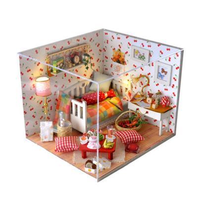 [adico]DIY 미니어처 하우스 - 핑크체리방