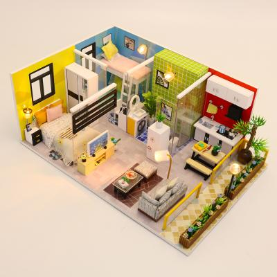 [adico]DIY 미니어처 하우스 - 심플 라이프