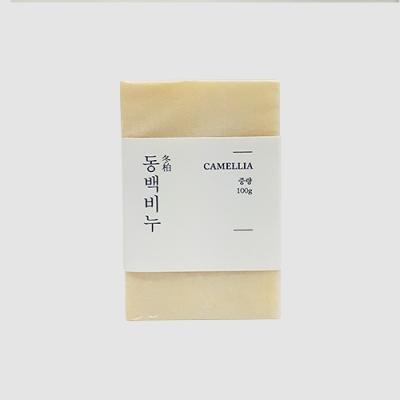 제주동백비누_아이보리
