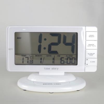 와일드스크린 디지털 알람 탁상시계 시계 추카추카넷