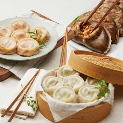 [유천냉면] 고기만두1봉+김치만두1봉+지짐2봉