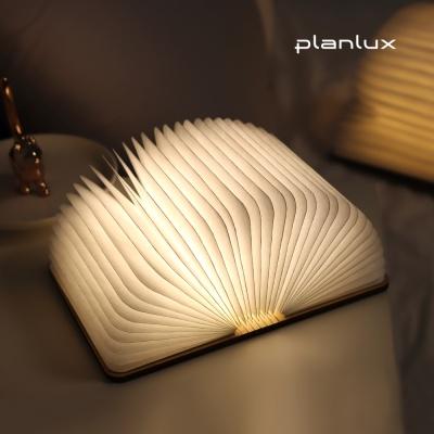 플랜룩스 LED 원목 책 무드등 조명 수면등 소 사이즈