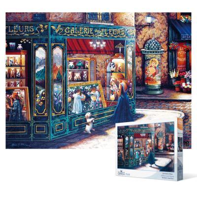 1000피스 직소퍼즐 - 갤러리 앤 플라워