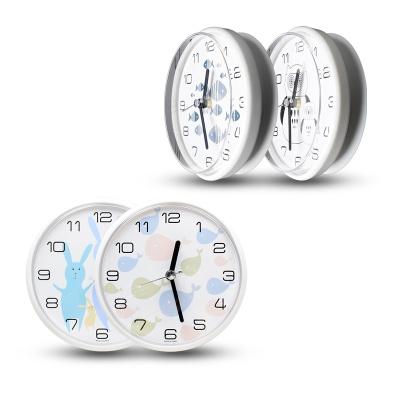플라이토 디자인 욕실 흡착 방수시계