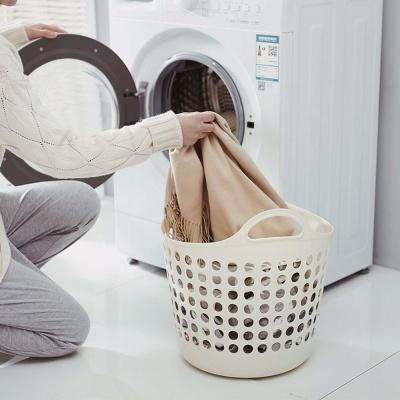 세탁물 투핸들 빨래 보관함 이동식 햄퍼 바구니 대