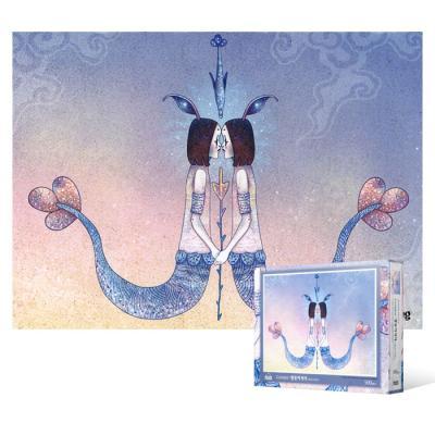 500피스 직소퍼즐 - 쌍둥이자리