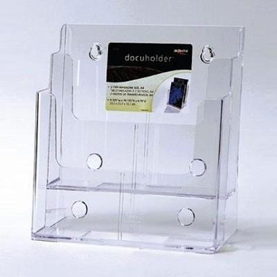 스마트한 디스플레이로 공간을 활용하는 Union PLUS DG 브로슈어 홀더 CR22802/A4/2단
